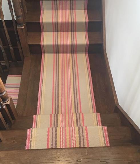 Striped Stair Carpet Cambridge