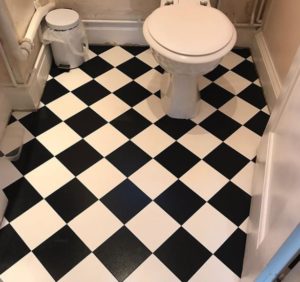 Amtico bathroom floor