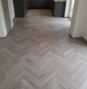 Herringbone flooring Cambridge